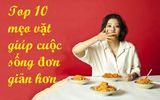 10 mẹo vặt ai cũng nên biết: Khử mùi hôi giày, chữa canh mặn khẩn cấp