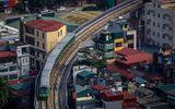 Chùm ảnh: Tàu đường sắt trên cao lao vun vút từ ga Cát Linh tới Yên Nghĩa