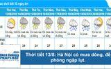 Dự báo thời tiết hôm nay 13/8: Hà Nội nắng nóng, có nơi trên 35 độ C