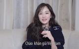 """Video: Dương Mịch gửi lời chào fan Việt nhân dịp """"Phù Dao hoàng hậu"""" lên sóng"""