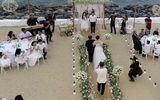 """Hé lộ thực đơn """"dân dã"""" trong tiệc đính hôn Nhã Phương-Trường Giang"""