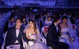 4.000 cặp cô dâu chú rể tham gia đám cưới tập thể tại Hàn Quốc, nhiều đôi chỉ mới quen