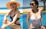 Hoa hậu Hà Kiều Anh khoe thân hình đáng mơ ước ở tuổi 42