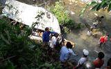 Hiện trường vụ nạn giao thông 12 người chết ở Lai Châu, xe khách bẹp dúm