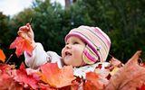 Cách chăm sóc da bé vào mùa thu