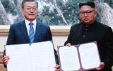 """Hai nhà lãnh đạo Hàn-Triều ký kết tuyên bố chung, """"bước nhảy vọt"""" tới hòa bình khu vực"""
