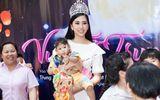 Top 3 Hoa hậu Việt Nam 2018 mang trung thu sớm đến với trẻ mồ côi