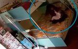 Video: Bảo mẫu dùng khăn trùm đầu, đánh đập bé 7 tháng tuổi liên tục