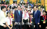 Chủ tịch nước Trần Đại Quang luôn dành tấm lòng yêu thương cho thiếu niên, nhi đồng