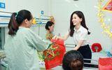 Á hậu Phương Nga đi từ thiện cùng Mỹ Linh, Thanh Tú ngay khi về Hà Nội