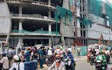 3 công nhân rơi từ công trình trung tâm thương mại ở TP. Hồ Chí Minh