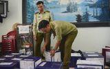 Đà Nẵng: Thu giữ xe container chở rượu ngoại không chứng từ, trị giá hơn 400 triệu