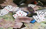 """Phá sới bạc """"khủng"""" trong trại gà, thu giữ gần 500 triệu đồng"""