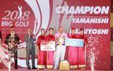Bế mạc BRG Golf Hanoi Festival 2018:  Du lịch Gôn Việt Nam tạo dấu ấn đậm nét với gôn thủ quốc tế