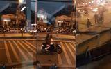 2 nhóm giang hồ mang hung khí, hỗn chiến trên cầu Nhị Thiên Đường