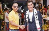 Quách Tuấn Du đến mừng Hoàng Phi Kha trở thành đại sứ thương hiệu thời trang CIZA