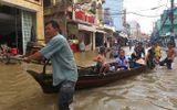Triều cường dâng cao, nhiều tuyến đường tại TP Cần Thơ bị ngập sâu