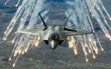 Tiêm kích tàng hình F-22 của Mỹ xua đuổi gần 600 máy bay trên bầu trời Syria