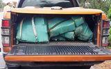 Vụ bắt ôtô chở hơn 3 tạ nghi ma túy đá: Lộ diện 2 người vận chuyển