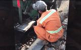 Đà Nẵng: Kỷ luật công nhân môi trường lén xả nước rỉ rác xuống cống