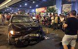 Hiện trường vụ nữ tài xế BMW say xỉn đâm 5 xe máy ở Sài Gòn
