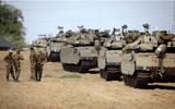 """Dải Gaza sắp """"bùng cháy"""": Israel đưa 60 xe tăng, xe bọc thép tới sát biên giới"""