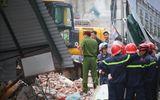 Hiện trường vụ sập nhà ở phố cổ Hà Nội, hàng chục người hoảng loạn