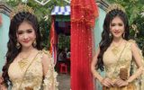 Tin tức đời sống mới nhất ngày 30/10/2018: Cô dâu Khmer nổi như cồn vì quá xinh đẹp, người đeo đầy vàng