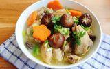 Món ngon mỗi ngày: Gà om nấm thơm lừng, bổ dưỡng cho bữa tối