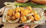 Món ngon mỗi ngày: Lòng gà trứng non xào hành tây hấp dẫn