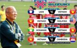 Lịch thi đấu chi tiết của đội tuyển Việt Nam tại AFF Suzuki Cup 2018