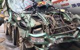 Tin tai nạn giao thông mới nhất ngày 10/11/2018: Đấu đầu xe bồn chở xăng, ô tô tải bẹp như đống sắt vụn