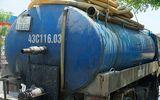 Đà Nẵng: Tài xế đổ nhớt thải xuống cống thoát nước bị phạt hơn 120 triệu đồng