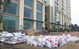 Dự án chung cư Gelexia Riverside: Ngổn ngang rác thải xây dựng, tranh cãi thiếu hụt diện tích