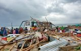 Lốc xoáy kinh hoàng ở Gành Đá Đĩa, 13 du khách bị thương