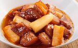 Món ngon mỗi ngày: Thịt kho củ cải đưa cơm ngày lạnh
