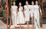 Kỳ Duyên - Huyền My cùng dàn người đẹp đọ sắc với váy trắng tinh khôi