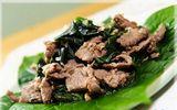 Món ngon mỗi ngày: Thịt bò xào lá lốt ngon cơm cho bữa tối