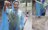 Quảng Trị: Bỗng dưng nhặt được dây chuyền nghi bằng vàng trong mưa lũ