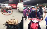 Bức xúc cảnh tài xế Go-Viet bị đánh gục, nằm bất động dưới đường