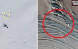 Phát hiện cấu trúc lạ dưới băng nghi căn cứ ngầm của người ngoài hành tinh ở Nam Cực