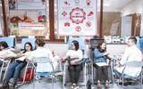 """""""Ấm lòng"""" chương trình hiến máu tình nguyện trong ngày đông Hà Nội"""