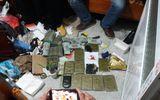 """Phá đường dây ma túy """"khủng"""" ở Nam Định, thu giữ hơn 2 tỷ đồng"""