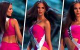 """Video: Điệu catwalk """"nham thạch"""" gây sốt của Hoa hậu Hoàn vũ 2018"""