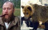 Xót xa người thợ săn bị con gấu nuôi từ bé xổng chuồng tấn công và ăn thịt