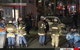 Hiện trường vụ đâm xe đêm giao thừa ở Tokyo, hàng loạt người bị thương
