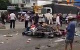 Vụ tai nạn thảm khốc ở Long An, nhiều người chết: Rùng mình hình ảnh nạn nhân nằm la liệt