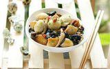 Món ngon mỗi ngày: Trứng kho nấm đậu giải ngán sau Tết