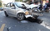 Tin tai nạn giao thông mới nhất ngày 3/1/2019: Taxi tông xe máy, 3 thanh niên tử vong