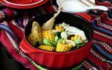 Món ngon mỗi ngày: Canh gà hầm rau củ ngon miệng, bổ dưỡng